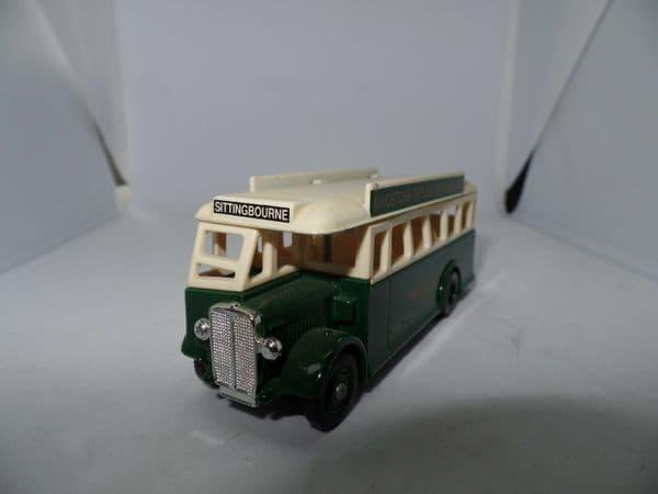 Lledo DG17 AEC Regal  Bus Maidstone & District Darling Buds of May Sittingbourne UB